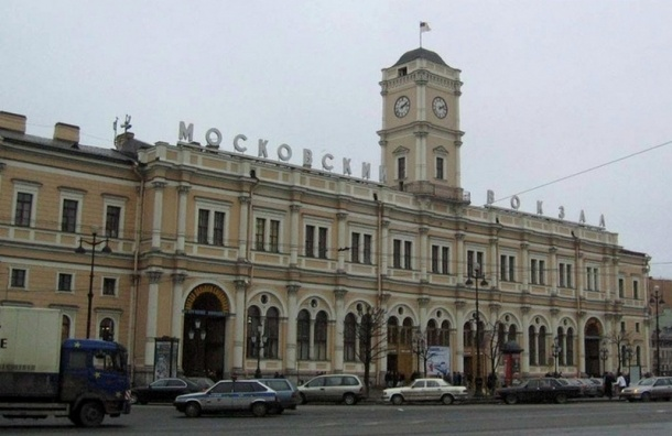 Московский вокзал Петербурга эвакуировали из-за оставленного рюкзака