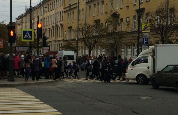 Бомбу в петербургской гимназии №171 не обнаружили