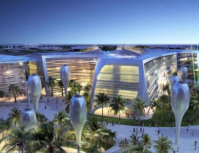 Масдар в ОАЭ - экогород будущего, построенный в пустыне