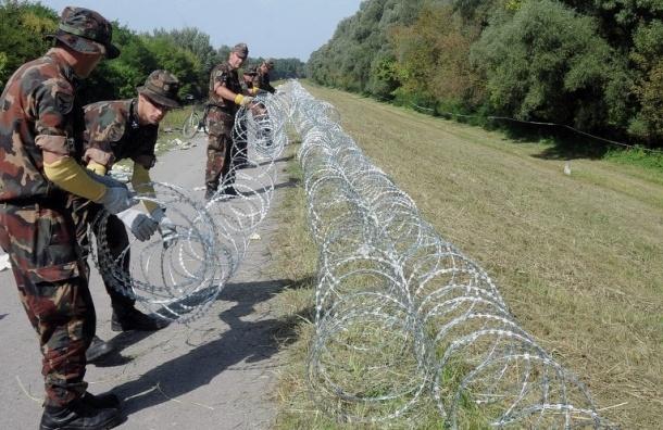 Венгрия закрыла путь мигрантам на границе с Хорватией