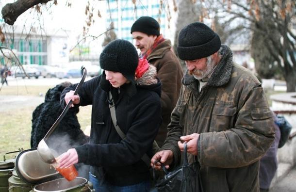 Уличный магазин для бездомных откроется в Петербурге 9 октября