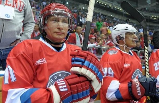 Песков: Путин скромно отметит день рождения с партнерами по хоккею