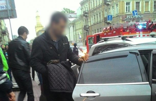 За рулем машины, врезавшейся в толпу людей на Московском проспекте, мог быть один из руководителей