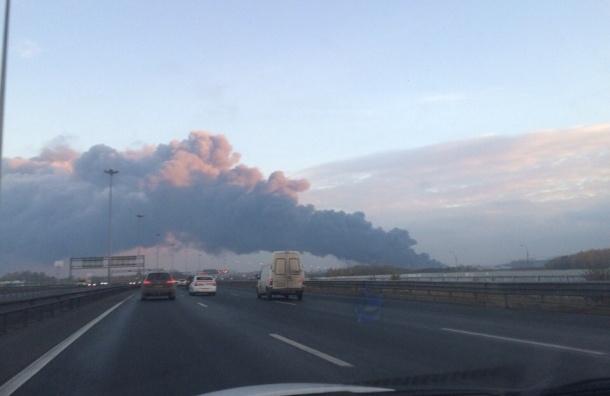 Почти полтысячи человек тушат огромный пожар на Парнасе