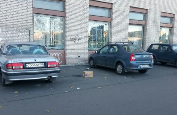Подозрительную коробку нашли на проспекте Ветеранов