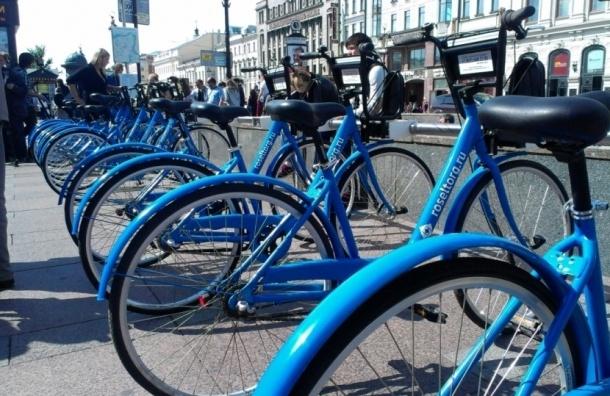Городской велопрокат будет работать до конца ноября