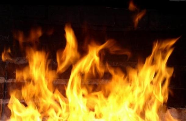 Крупный пожар произошел в ресторане «Legran» на окраине Петербурга