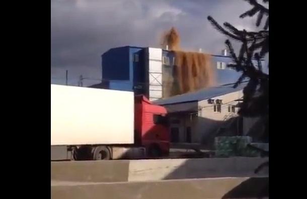 Извержение дрожжей произошло в Воронеже на дрожжевом заводе