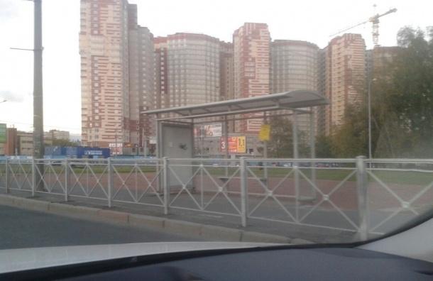 Петербуржцы не знают, как попасть на остановку на углу Космонавтов