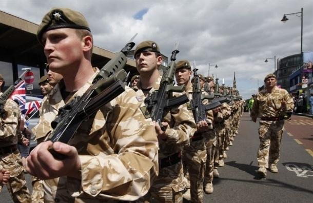 Великобритания направит в страны Балтии своих военных