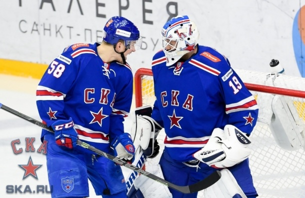 СКА одержал победу над тольяттинской «Ладой»