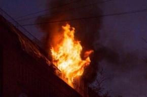 Двух женщин спасли из горящих квартир на Вячеслава Шишкова