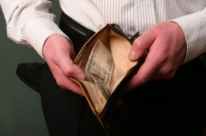 Зарплаты петербуржцев за месяц понизились на 6,8%