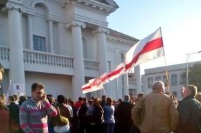Белорусская оппозиция вышла на митинг против размещения авиабазы РФ в стране