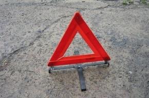 Серьезная авария с двумя автомобилями произошла в Приморском районе