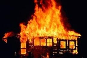 Ночью на Малой Балканской сгорел вагончик