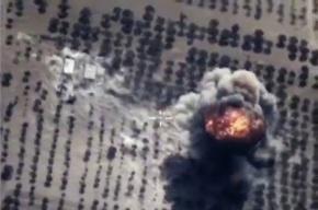 Российские ВВС разбомбили базу смертников «ИГИЛ» в Сирии