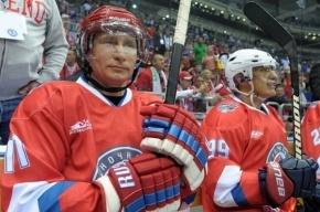 Путин отметит день рождения с партнерами по хоккею