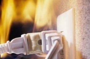 Проводка горела в офисе на Большом проспекте П.С.