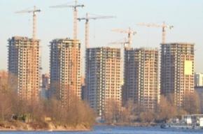 Жилье вПетербурге стали строить меньше на36%