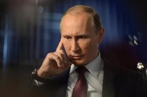 Путин поздравил Лукашенко с победой