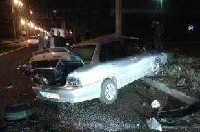 Пьяный автомобилист погиб в аварии на шоссе Революции