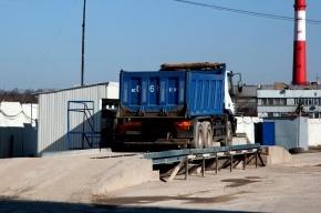 Асфальтобетонный завод в Коломягах выбрасывает в воздух слишком много пыли