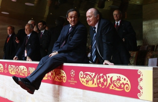 Главу УЕФА Платини отстранили от исполнения обязанностей