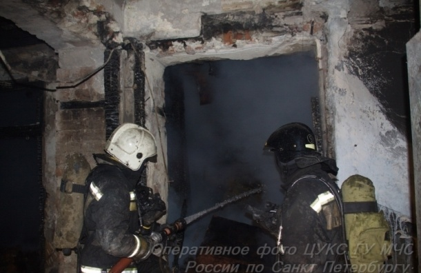 Прокуратура проверит пожар на Большой Пушкарской