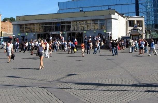 Вестибюль «Сенной площади» будут закрывать до конца года в часы пик
