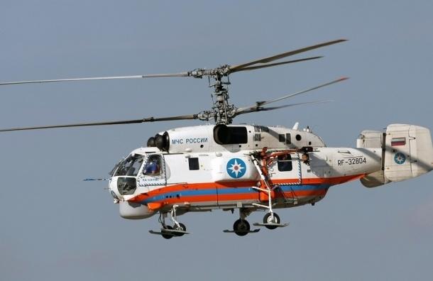 Пропавших в Приозерском районе рыбаков ищет вертолет