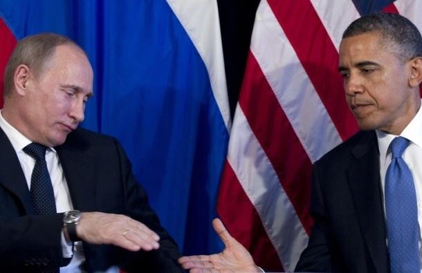 Путин и Обама пожали руки перед началом саммита G20