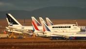 """Самолеты """"Трансаэро"""" перевезли на консервацию в Испанию: Фоторепортаж"""