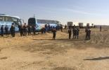 Фоторепортаж: «Тела погибших в авиакатастрофе в Египте везут третьим бортом»