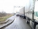 Акция протеста дальнобойщиков в Петербурге: Фоторепортаж