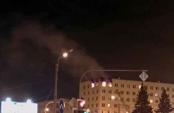 Взрыв произошел в квартире на Красногвардейской площади