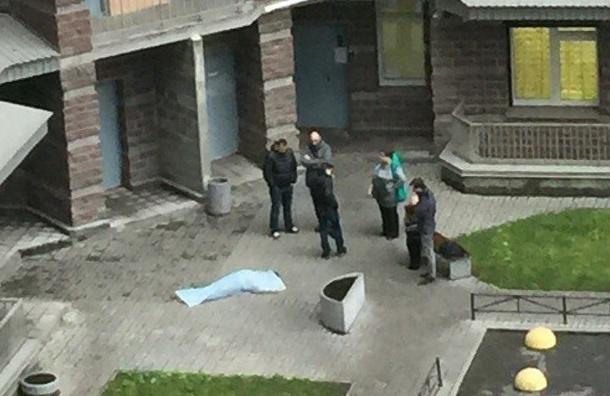 Человек выпал из окна в районе Академической