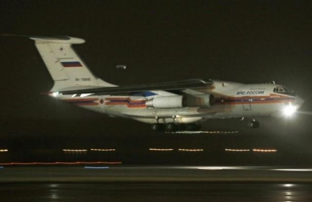 Второй борт МЧС с телами погибших в Египте прибыл в Петербург