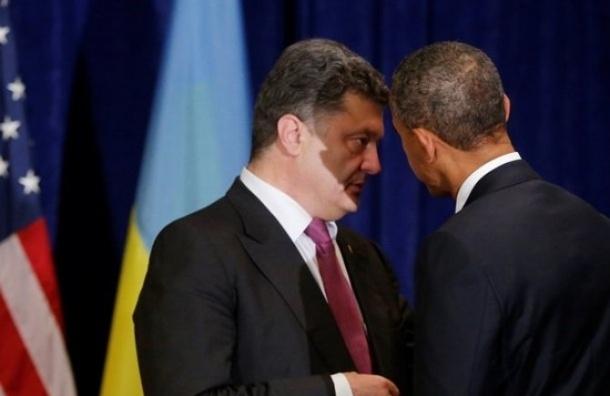 Президент Украины поблагодарил Обаму за военную помощь