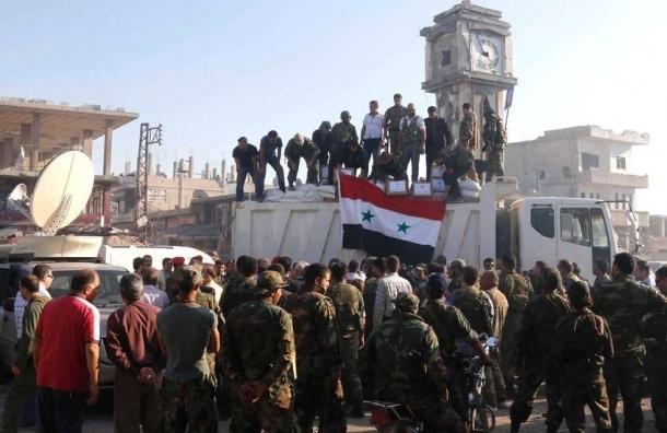 Сирийская оппозиция передала российским военным разведданные о позициях террористов