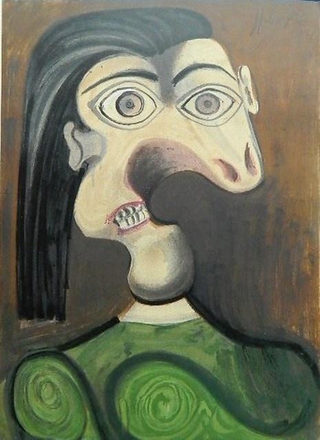 _Пикассо, Война