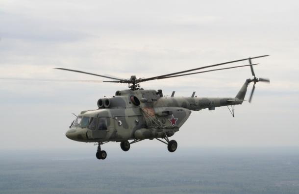 Вертолет Ми-8 совершил жесткую посадку: идут поиски экипажа