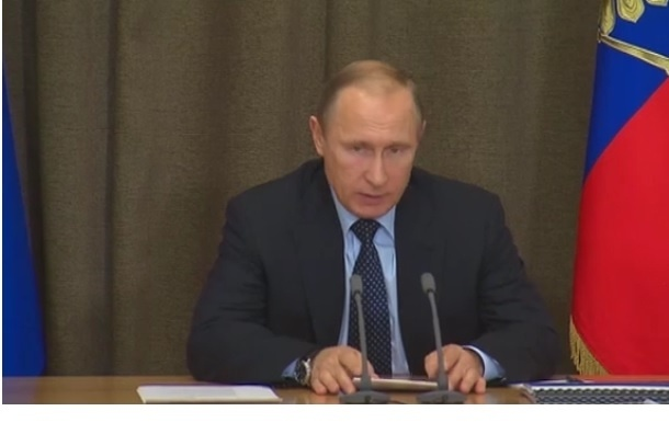 Владимир Путин соболезнует Франсуа Оланду в связи с терактами в Париже