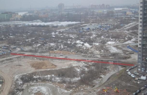 Жильцов ЖК «Ласточкино гнездо» замуровали, оставив комплекс без дорог