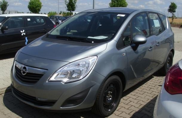 Почти 9,5 тысяч Opel Meriva-B отзывает в России GM