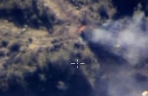 Российские военные уничтожили цех по минированию автомобилей в Сирии