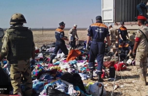 Третий борт с телами погибших в авиакатастрофе в Египте не смог приземлиться в Петербурге