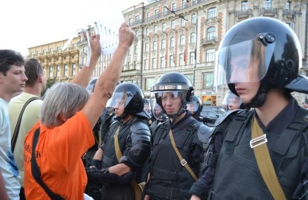 Активиста, который поддерживал Навального в 2013 году, задержали в Петербурге