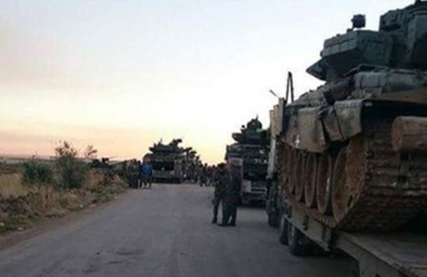 Сирийские СМИ сообщают о начале наземной операции российской армии