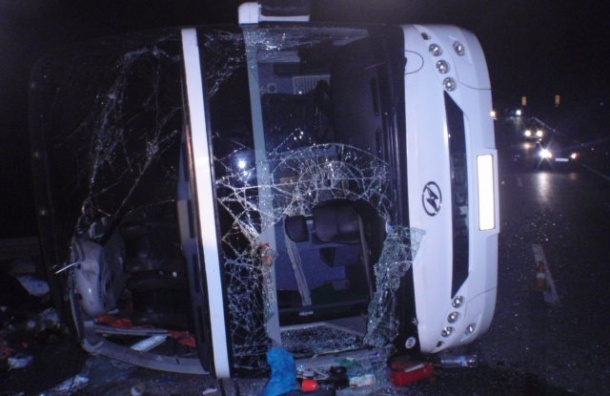 Семь человек погибли в ДТП с автобусом под Тулой